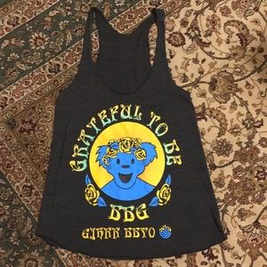 American Apparel Tops - Grateful Dead inspired rock tee halter Jewish club